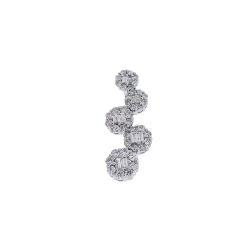 Briana White Gold Diamond Pendant