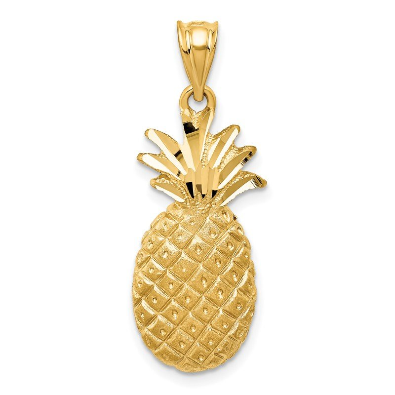 Quality Gold 14k Pineapple Charm