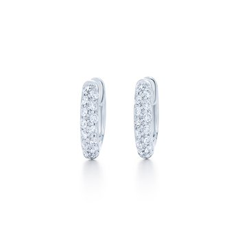 Kwiat Moonlight Diamond Hoops
