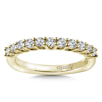 Stackable Wedding Band in 14K Yellow Gold (.42 ct. tw.)