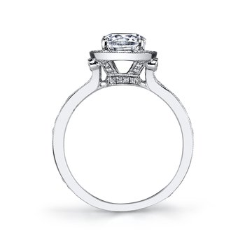 25530 Diamond Engagement Ring 0.51 ct tw