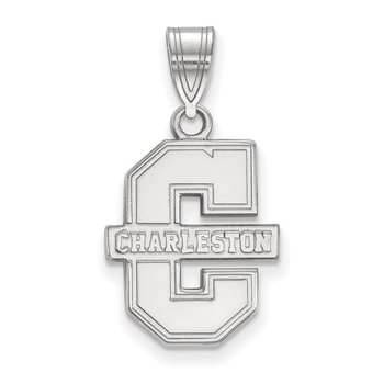 Sterling Silver College of Charleston NCAA Pendant