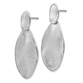 Leslie's Sterling Silver Radiant Essence Post Earrings