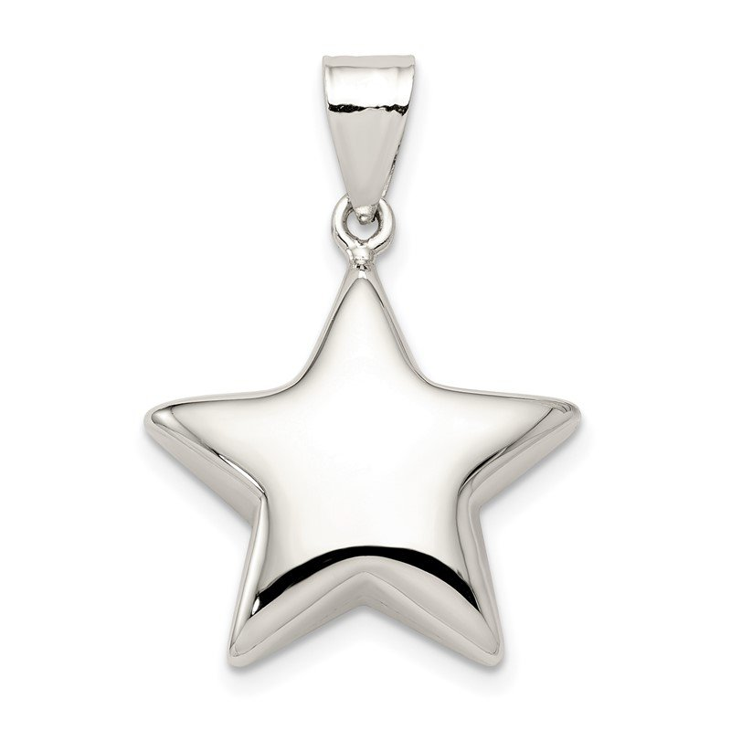 Quality Gold Sterling Silver Star Charm