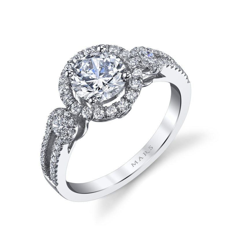 MARS Jewelry - Engagement Ring 25130