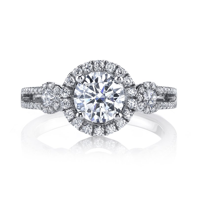 MARS Jewelry 25130 Diamond Engagement Ring 0.52 ct tw
