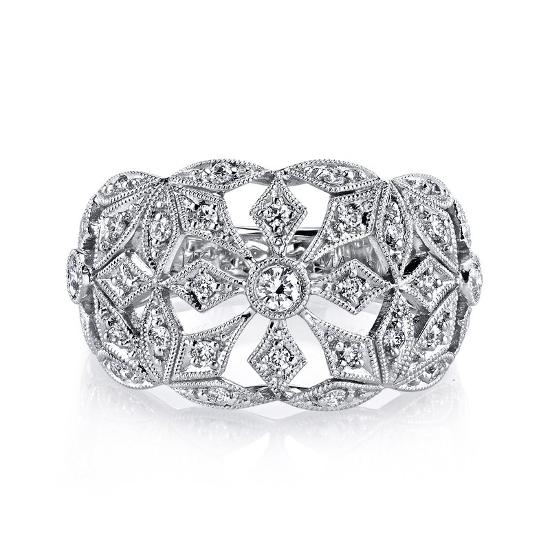 MARS Jewelry MARS 26584 Fashion Ring, 0.40 Ctw.