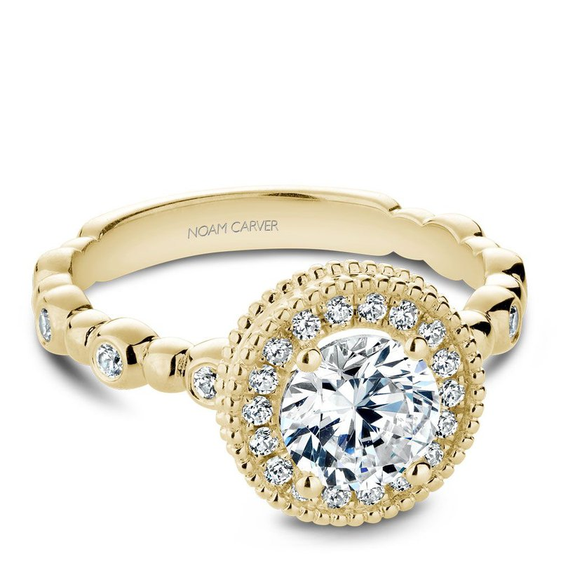 Devon Fine Jewelry: Noam Carver Noam Carver Modern Engagement Ring ...