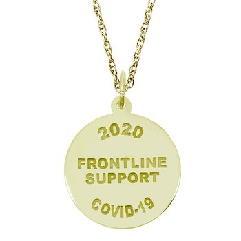Covid-19 Frontline Support Necklace Set