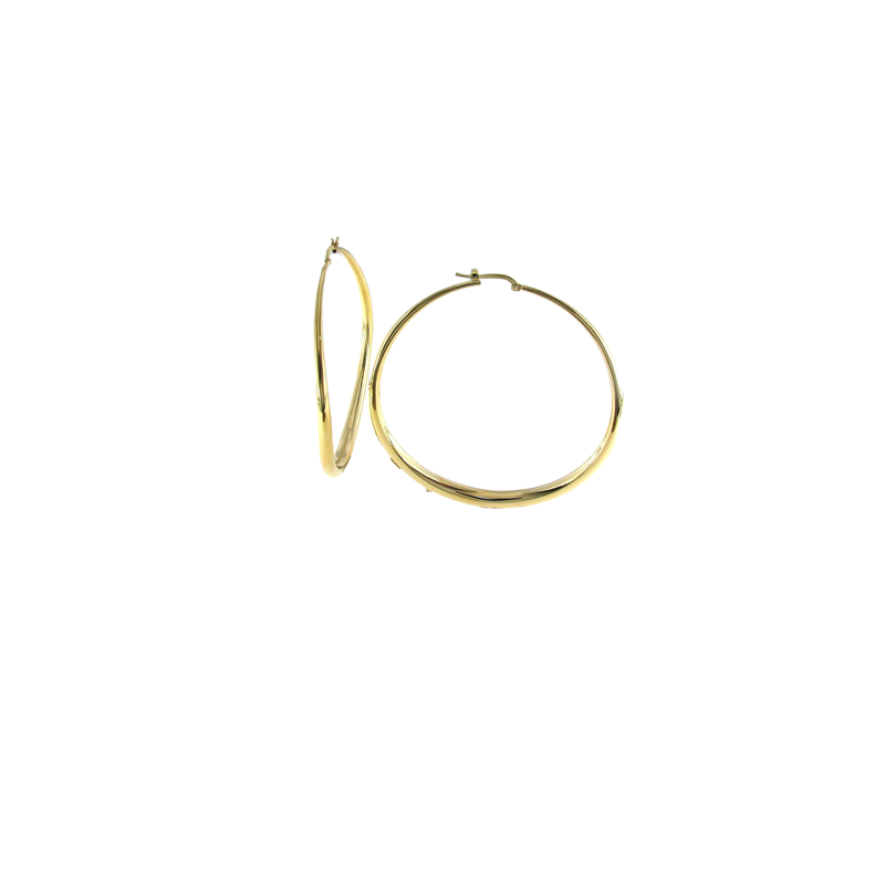 Roberto Coin 18Kt Classic Oro Hoop Earring