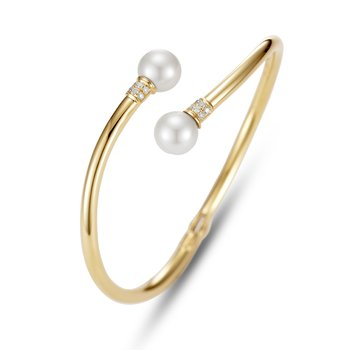 Stacking Pearl Cuff Bracelet