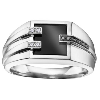 Onyx Gents Ring