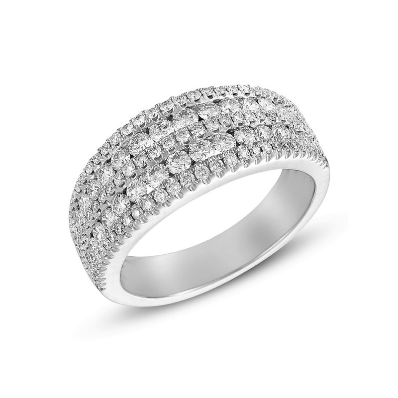 S. Kashi  & Sons Platinum Diamond Band