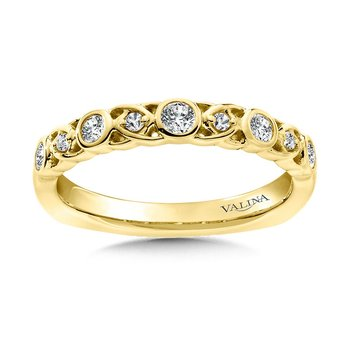 Stackable Wedding Band in 14K Yellow Gold (.24 ct. tw.)
