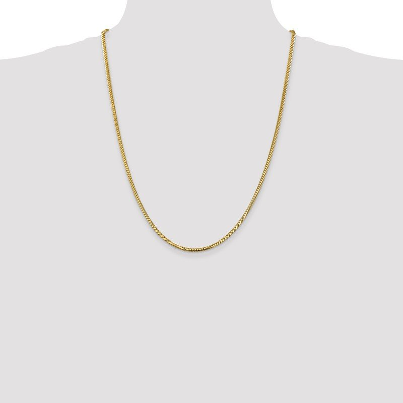 Quality Gold 14k 2.3mm Franco Chain