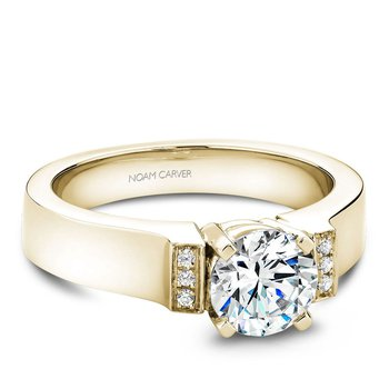 Noam Carver Modern Engagement Ring B042-01YA