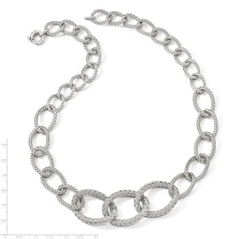 Leslie's Sterling Silver Woven Necklace