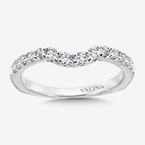 Valina Bridals Diamond and 14K White Gold Wedding Band (0.34 ct. tw.)