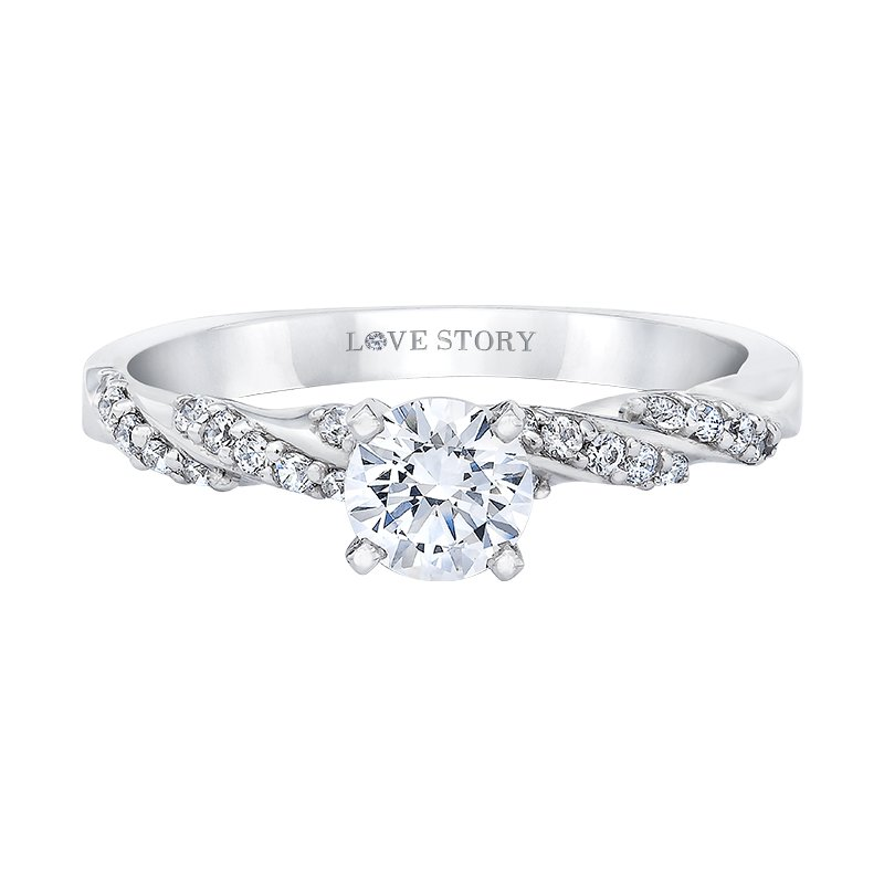 Love Story Diamonds Diamond Engagement Ring by Love Story