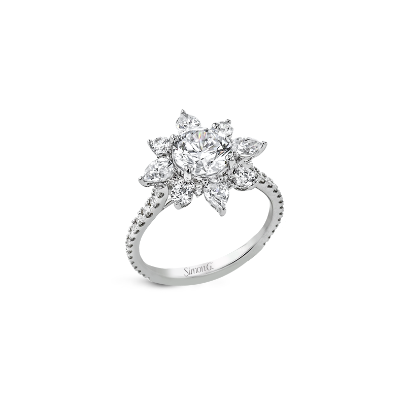 Simon G LR2837 ENGAGEMENT RING