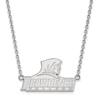 Sterling Silver Providence College NCAA Necklace