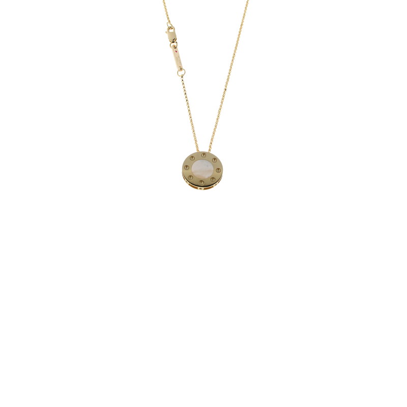 Roberto Coin 18Kt Gold Pendant With Mother Of Pearl