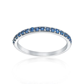 Synthetic Blue Ring