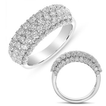 White Gold Fashion Diamond Ring