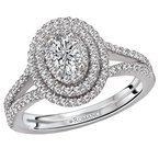 Romance Split Shank Diamond Ring