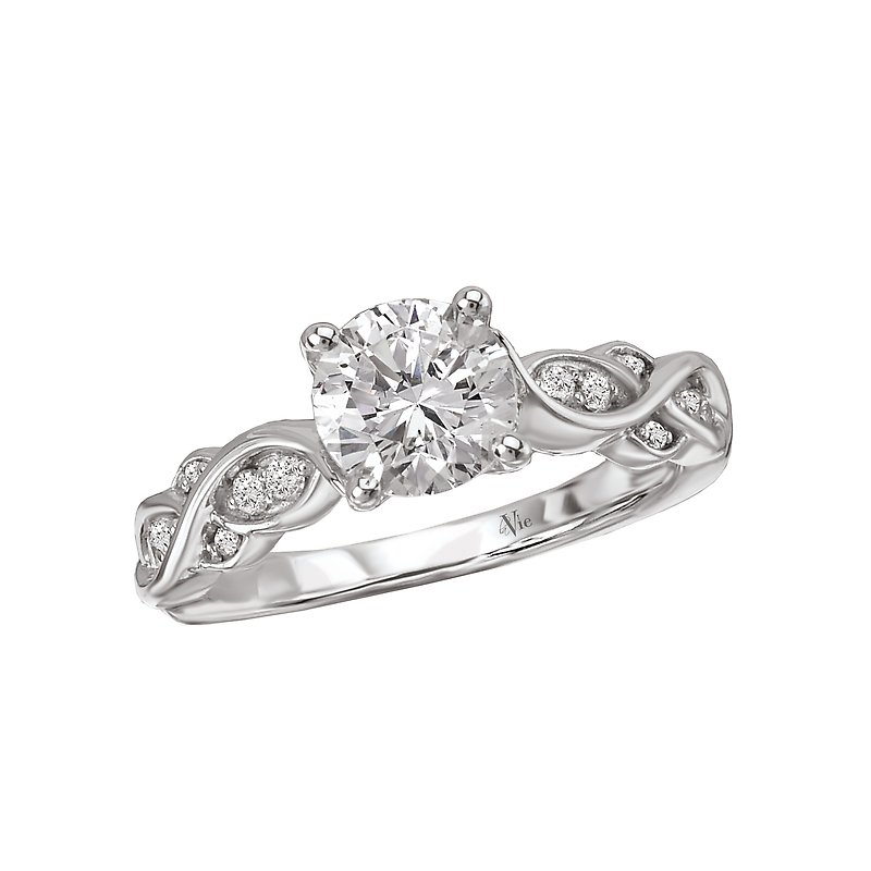 LaVie Classic Semi-Mount Diamond Ring