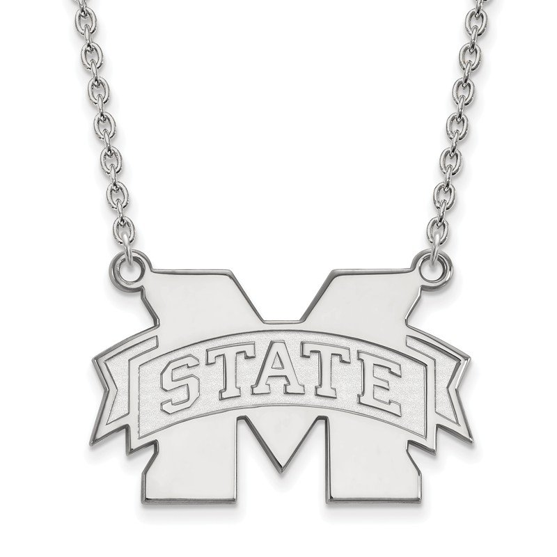 NCAA Gold Mississippi State University NCAA Necklace