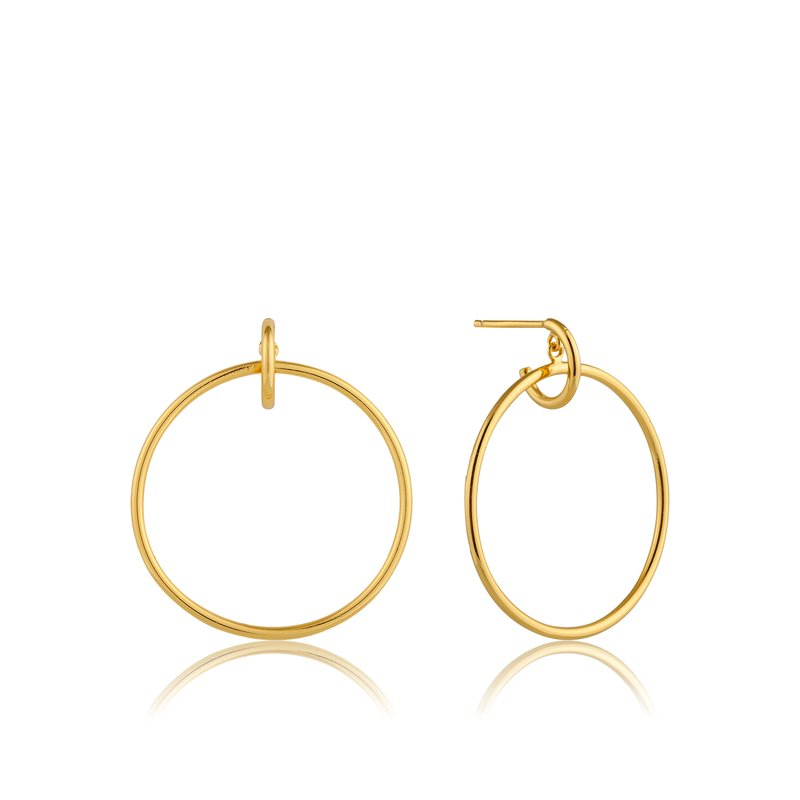 Ania Haie Front Hoop Earrings