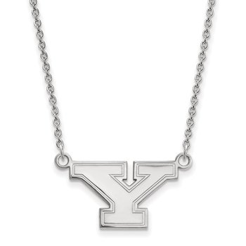 Sterling Silver Youngstown State University NCAA Necklace
