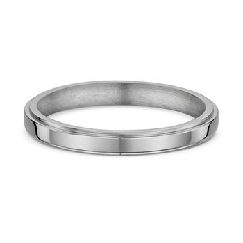 3mm Side Cut Heavy Wedding Band