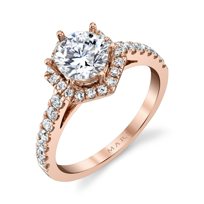 MARS Jewelry - Engagement Ring 27184