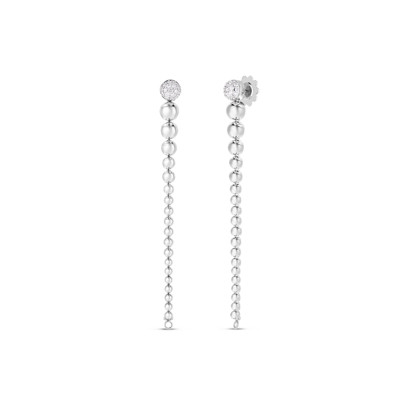 Roberto Coin 18K CONVERTIBLE GOLD & DIAMOND EARRING