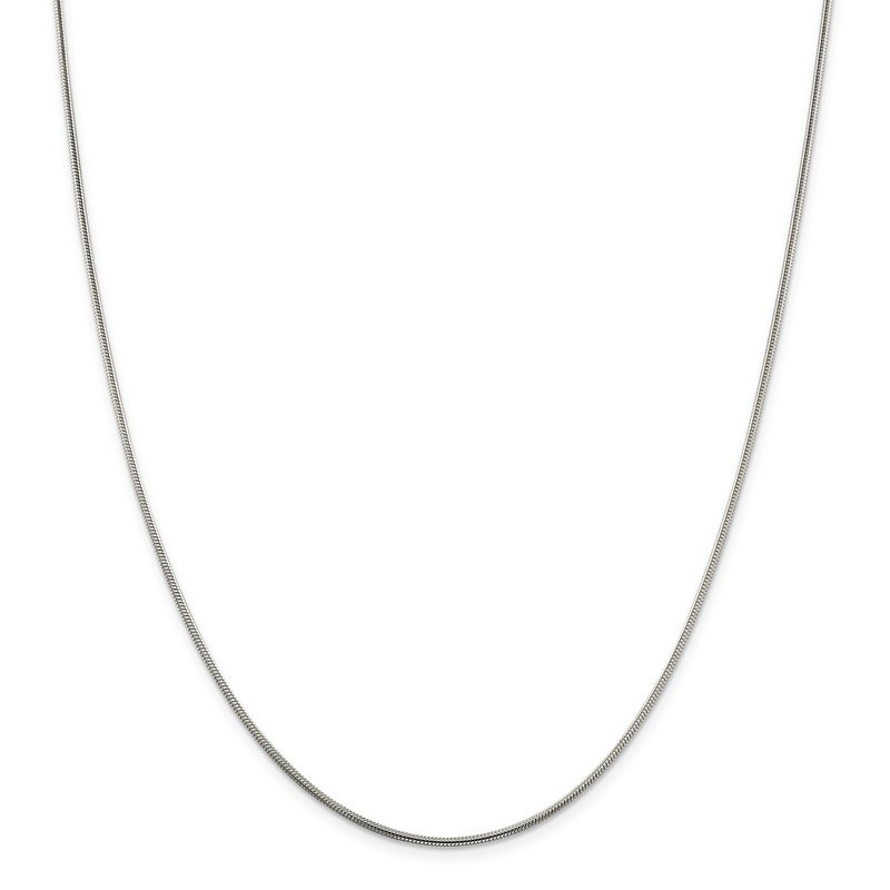 Quality Gold Sterling Silver 1.5mm Snake Chain