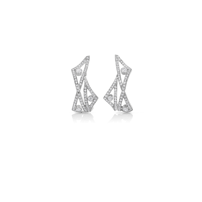 Roberto Coin Cento Wave Earrings