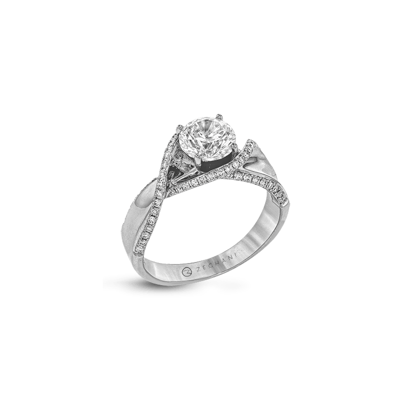 Zeghani ZR1450 ENGAGEMENT RING