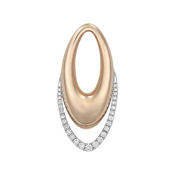 Diamond Fashion Pendant - FDP4782RW