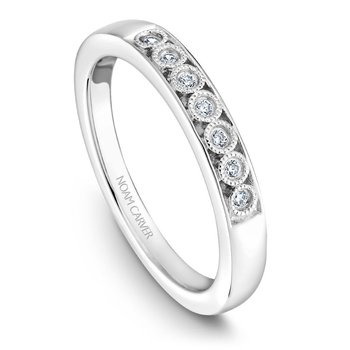 Noam Carver Wedding Band B091-01B