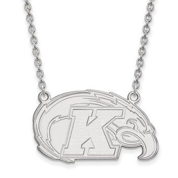 Gold Kent State University NCAA Necklace