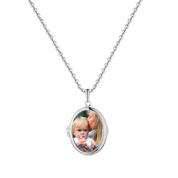 Ginny Glass Locket Necklace