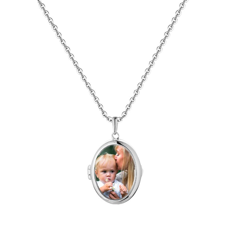 With You Lockets Ginny Glass Locket Necklace