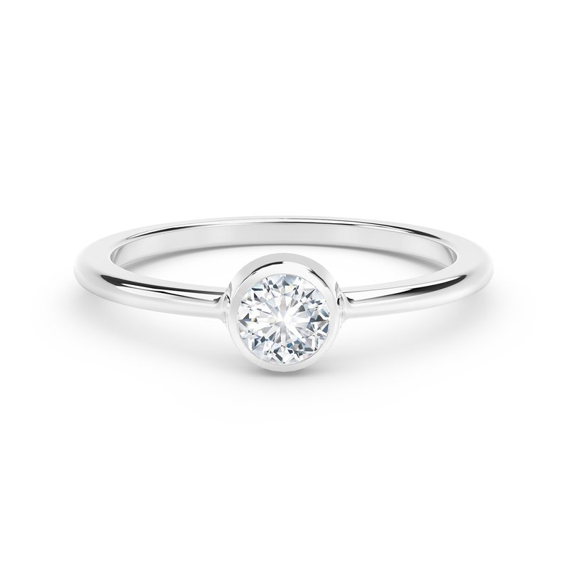 Forevermark The Forevermark Tribute™ Collection Classic Bezel Stackable Ring