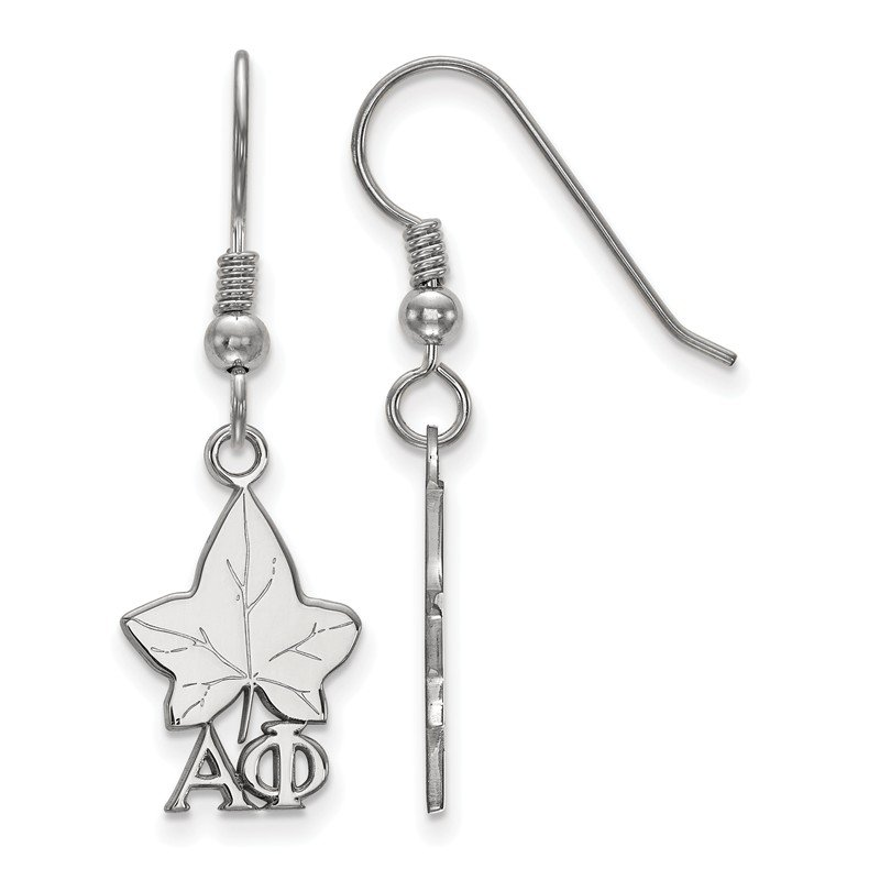 Greek Life Sterling Silver Alpha Phi Greek Life Earrings
