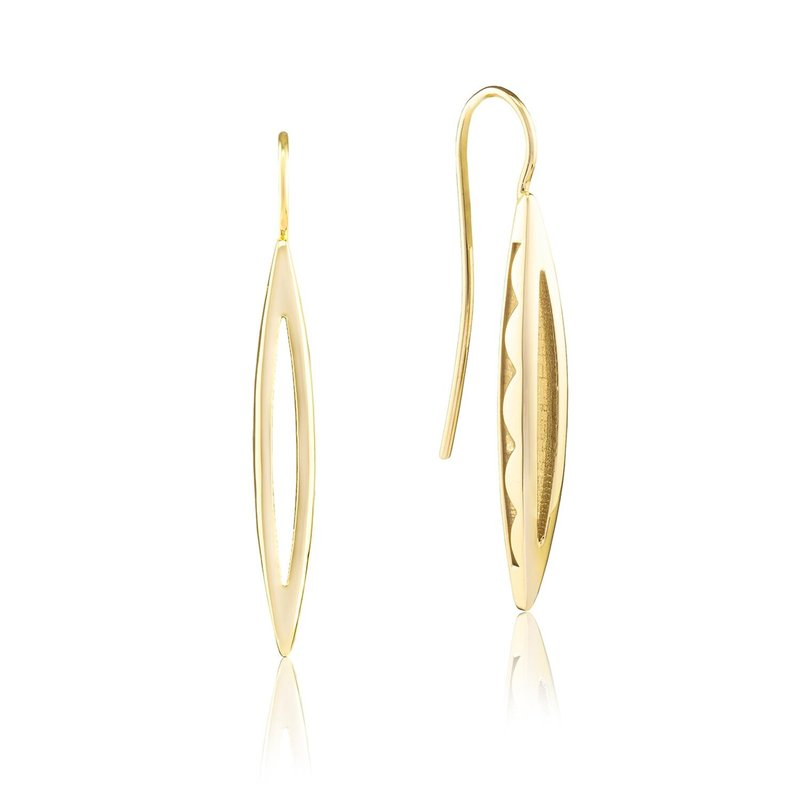 Tacori Fashion Surfboard French Wire Earring
