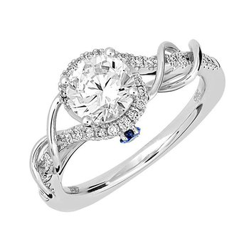 Bridal Ring-RE12683W10R