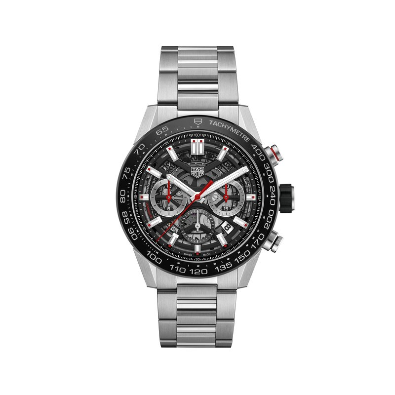 TAG Heuer H02 45mm Automatic Chronograph