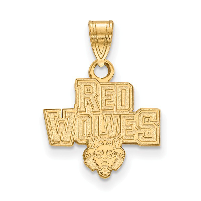 NCAA Gold-Plated Sterling Silver Arkansas State University NCAA Pendant